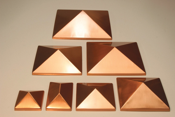 copper metal point post cap 7 sizes post caps for your deck 6 x 6 4 x 4 8 x 8 huge selection and low prices